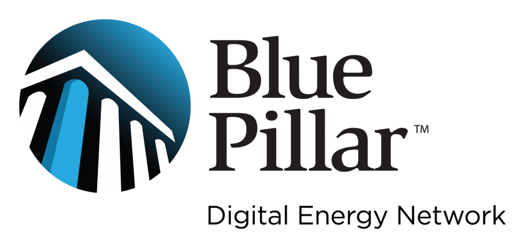 Blue Pillar: Digital Energy Network Logo