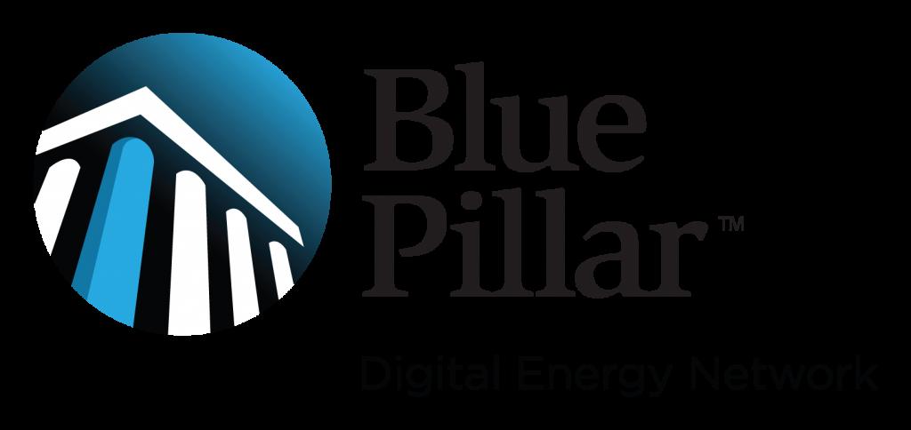 Blue Pillar: Digital Energy Network Logo